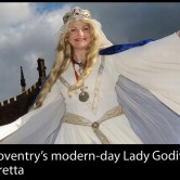 35 years as Lady Godiva