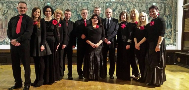Dinner party with the Polish Ambassador