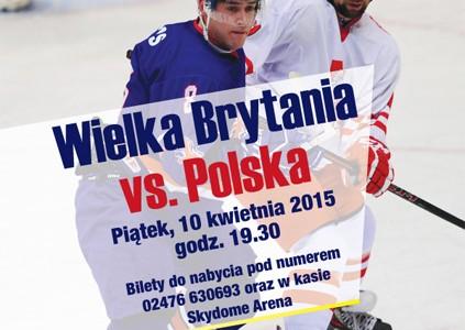 Great Britain v Poland ice hockey