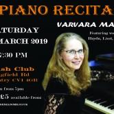 Recital Fortepianowy Varvary Maggs